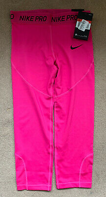Girls Nike Pro 3/4 Leggings Age 12-13 BNWT
