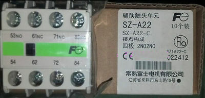 1pcs Fuji Electric SZ-A22 Auxilliary Contact Block NEW