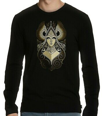 Valkyries Goddess of Love Valhalla Viking Norse mythology symbol Long Sleeve