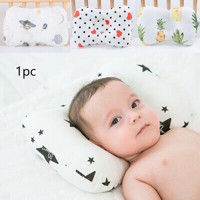 Bedding Head Protection Soft Breathable Anti Roll Baby Pillow Newborn Shaping