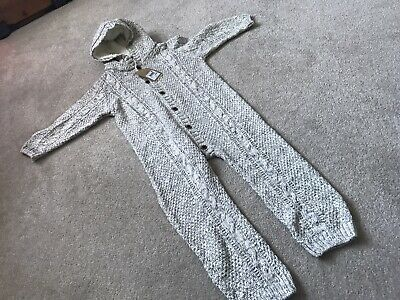 NEW Next Beige All In One Suit 2-3 Years Rrp £23