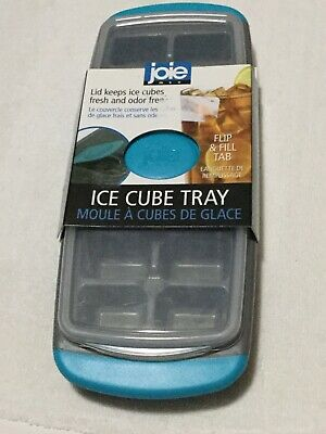 Joie Mini Ice Cube Tray Maker with Lid Makes 32 Small Ice Cubes