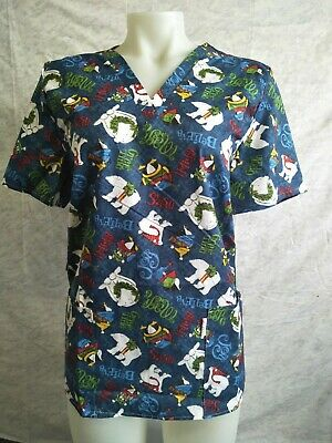 Xmas scrubs size 12, Made in Melbourne, Unisex, great designs