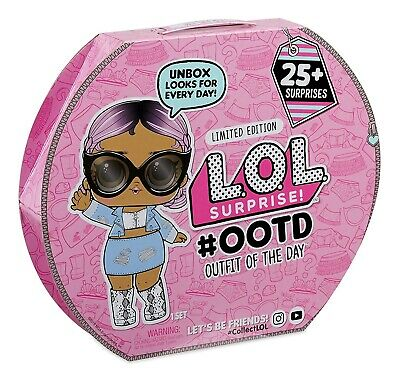 New LOL Surprise! #OOTD Outfit of the Day Doll 25+ Surprises