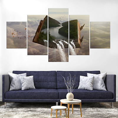 Dream Fantasy Surreal Nature Canvas Print Painting Frame Home Decor Wall Art Pic