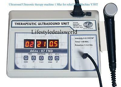 Ultrasound Ultrasonic therapy machine 1 Mhz for relief FND Machine Y3HT@LSDW