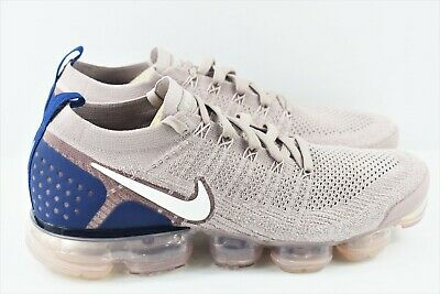 Nike Air Vapormax Flyknit 2 Mens Size 11.5 Running Shoes Taupe 942842 201