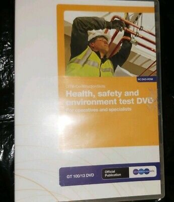 Health, Safety and Environment Test for Operatives and Specialists DVD.