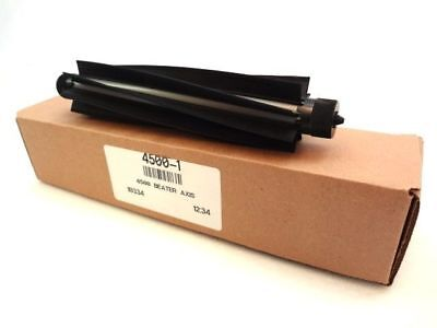 4500-1 Beater Axis 4500 Walze with Rubber Fins Black New