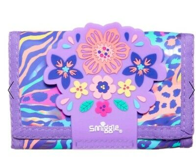 Smiggle explore scented Character Wallet Purse New