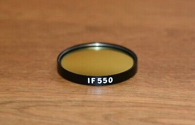 OLYMPUS IF550 45mm 550nm Interference Green Microscope Filter 9-B324 Great Shape