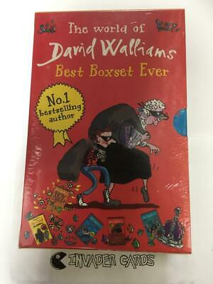 The World Of David Walliams Best Boxset Ever Collection Gift Books Set Pack New