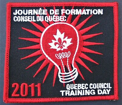 Scouts Canada Quebec Eastern Montreal 2003 QCE03c