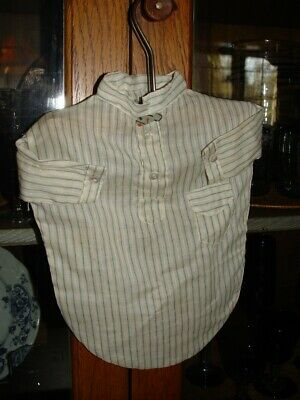 Vintage peaky blinders style little boys 1920's shirt / clothespin holder