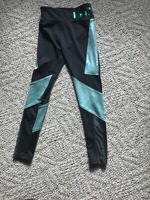 JUSTICE SWEAT SHIRT  And JUSTICE Leggings SIZE 8 EUC