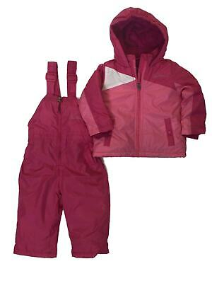 Weatherproof Girls/' Toddler 2pc Snow Suit Dewspro Rainbow Thread Fuschia  $90