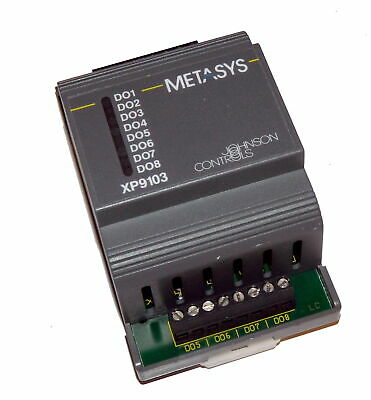 Johnson Controls XP-9103-8304 Metasys XP9103 Extension Module 8 Digital Output