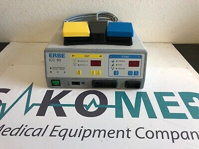 ERBE ICC 80 Electrosurgical Unit with foot switch/TESTED