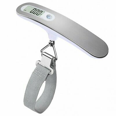 Portable Hanging Digital Travel Luggage Scale Manual Baggage Weight 50kg/10g