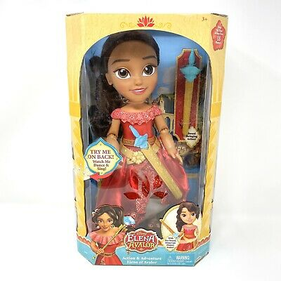 Disney Elena of Avalor Action and Adventure Girls Dancing & Singing Doll Toy