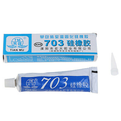 703 Adhesive Sealant Silicone Rubber Glue For Glass Metal Plastic Tiles ZB
