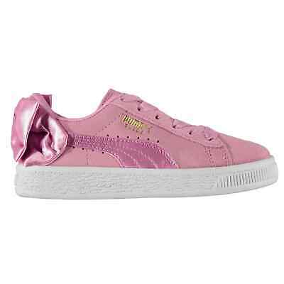 Puma Kids Girls Bow AC FW Childs Classic Trainers