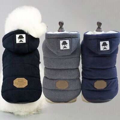 Sweater Hoodie Pet Puppy Hooded Clothes Dog Autumn Jackets Winter Warm Coat