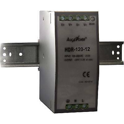 Alimentatore Swinching Din Rail 120W 12V Alcapower 961017