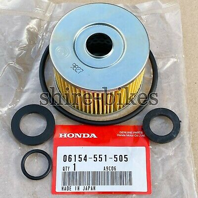 NOS Genuine Honda Oil Filter & Seal Kit suitable for Honda N600 & Z600 Cars