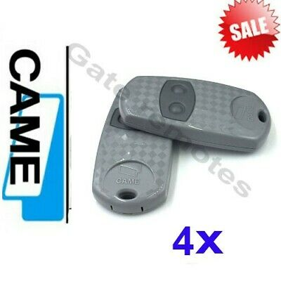 001TOP432EE Latest gate keyfob remote 433,92 Mhz UK Stock. 4 X CAME TOP 432EE