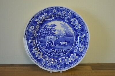 Spode Blue Room Collection - 26.5 cm Dinner Plate - Milkmaid - BNWT
