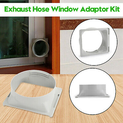"5/"" Window Adaptor 2x 3x Window Slide Kit Plate For Portable Air"