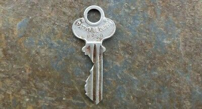 Antique Eagle Lock Co Key Patented  July 26th, 1898