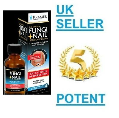 Kramer MAX STRENGTH Anti-Fungal Treatment Liquid Finger/Toe Nail Fungi-Nail Cure