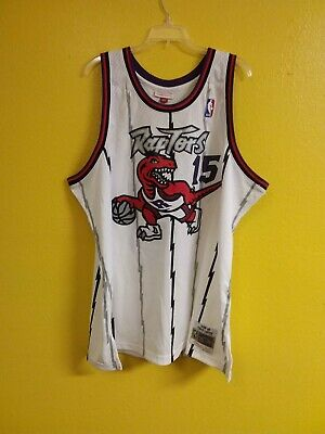 🏀Toronto Raptors  #15 Vince Carter Authenthic Nba Mitchell & Ness Mens -2Xl
