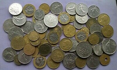 Collection Of Coins From France - 1920'S To Pre-Euro Francs , Centimes Etc