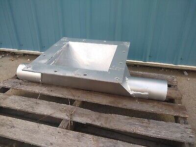 pneumatic receiver for rotary airlock ( rotary feeder or star valve)