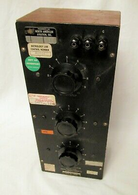 Vintage Freed 1250  Decade Capacitor wood case