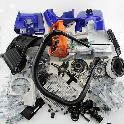 Complete Repair Parts F Stihl MS440 044 Engine Motor Crankcase Cylinder Chainsaw