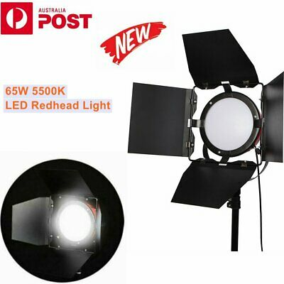 65W Dimmable LED Red Head Photo Video Studio Continuous Light Lighting 5500K AU