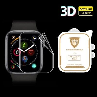 6D For Apple Watch 5 4 3 2 Tempered Glass Screen Protector iWatch 38,42,40,44mm