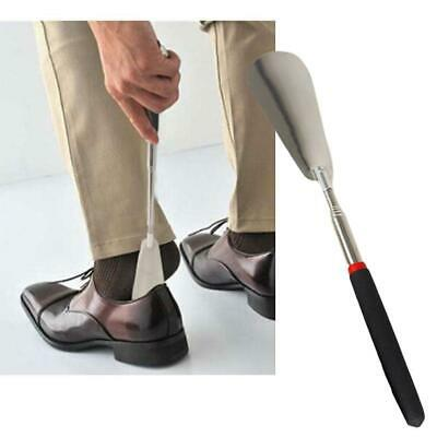 Long Handle Extendable Steel Shoe Horn Remover Mobility Aid Handheld