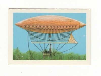 Australia Aviation Card. Frenchman Giffard's Airship - 1852