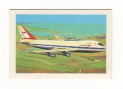 Australia Aviation Card. Boeing 747 1970
