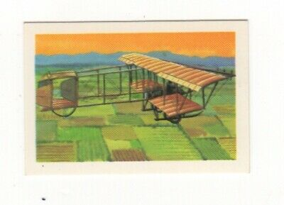 Australia Aviation Card. Farman Biplane -1909
