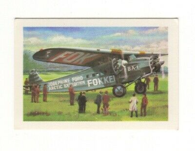 Australia Aviation Card. The Tri-motor Fokker - 1926