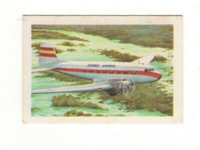 Australia Aviation Card. Japan Airlines DC3 - 1953