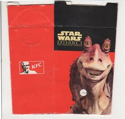 Star Wars Episode 1 Chip Packet from KFC