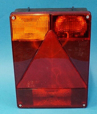 LH Radex 6800 Plug In Rear Trailer Lamp with Marker Power Take Off  Indespension