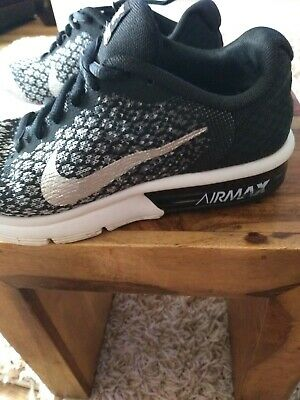 NIKE AIR MAX Sequent 2 Trainers Size 3 EUR 13,90 | PicClick IT
